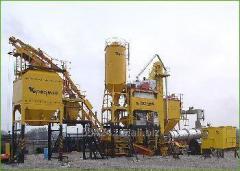 Asfaltosmesitelny DS-185 installation