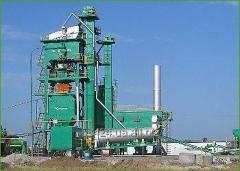 Asfaltosmesitelny KDM-201 installation