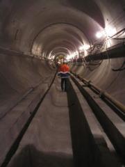 Опалубка тунельна-  Механізована опалубка для обладнання монолітної залізобетонної сорочки в тунелі