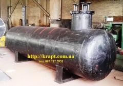 Ресивер подземный для СУГ 5 м.куб