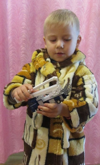 Халат махровый детский SС Cran collection V1041