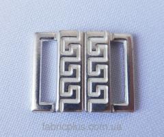 Пряжка- застежка серебро 8017