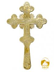 Altar cross gilding, Greece, weight: 0,6 kg