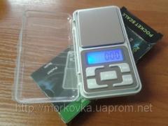 Карманные ювелирные весы 0,01 - 100 гр Pocket
