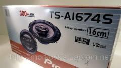 Автомобильная акустика колонки Pioneer TS-A1674S,
