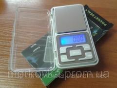 Карманные ювелирные весы 0,1 - 500 гр Pocket scale