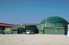 Biogas installation for the agrarian enterprises