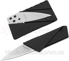 Складной нож трансформер CardSharp 2 нож кредитка,