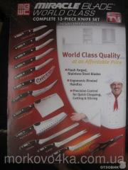 Miracle Blade World Series Set of knives of 12