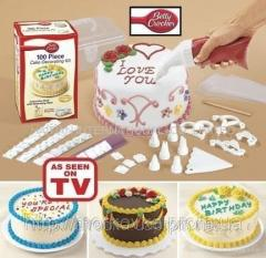 Набор betty crocker 100 piece Cake Decorating Kit,