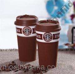 Чашка керамическая кружка Starbucks Brown стакан