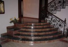 Лестницы, ступени из гранита. Балясины Донецк