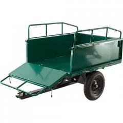 Wózki do ciągników jednoosiowych