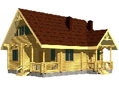 Дом JOZEF из клееного бруса