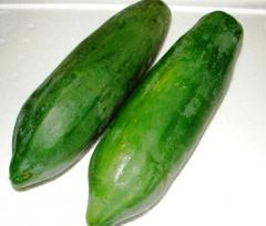 Papaya green (vegetable)