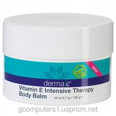 Body balm with Derma E 190 vitamin E of grams