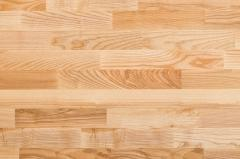 Parquet board of Befag Ash-tree rustic oil brash