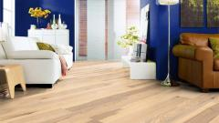 Parquet board of Haro Ash-tree white Savazh 1kh