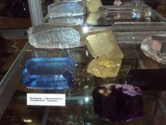 Ювелирный кварц и топаз