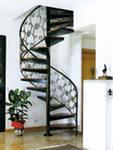 Лестницы, перила, прямые,кованные
