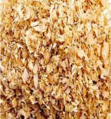 Wood sawdust, tyrsa, shaving dry