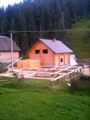Projects of houses in style a wild felling Ukraine