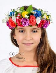 Venochek female Ukrainian multi-colored