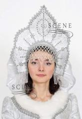 Headdress for the Snow Maiden