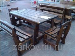 Tables from the massif of a tree Ukraine