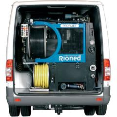 Hydrodynamic Rioned cars for washing of pipes of