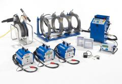Welding equipment Hurner for polymeric pipes
