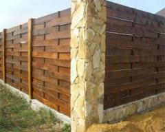 Wooden fences wholesale Ukraine