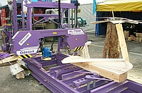 Machines are lentochnopilny, power-saw benches