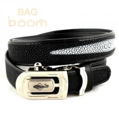 Belt from leather of a slope the automatic machine