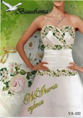 Схема для вышивки женского платья vs032