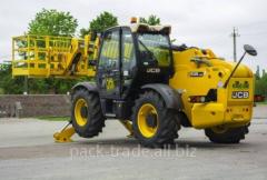 Diesel auto-loader of JCB 535/140 HiViz