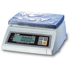 Scales SW-10W, desktop with moisture protection