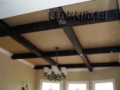 Ceilings lacunar wooden Ukraine