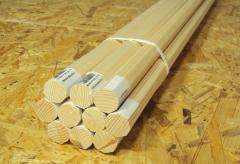 Wooden handles for stock