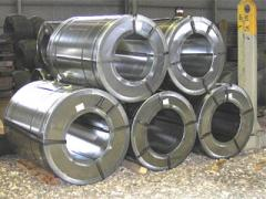 Zinc galvanized steel in rolls