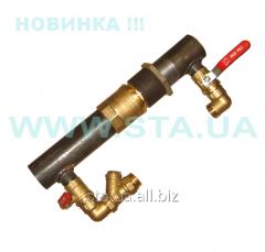 Baypas 40kh140mm under the valve in a se
