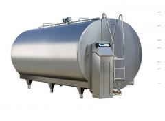 Milk coolers, small and big, seamless, highly
