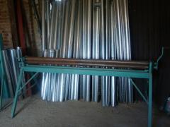 Вальцы для производства водосточных желобов и труб