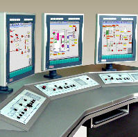 Automated process control systems in various