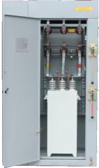 Установки конденсаторные компенсации реактивной мощности высоковольтные УКРВ-10(6)/25...1600 У3