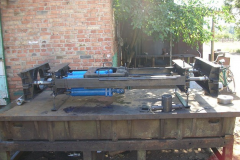 Installation hydraulic for a puncture of
