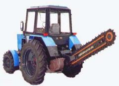 Установка баровая ЭТЦ-165А-1СК к тракторам МТЗ,