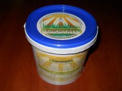 Biopreservative for a silo, a senazh, a