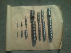 Шнек и нож для станка рабица