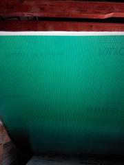 Полікарбонат стільниковий 4мм зелений